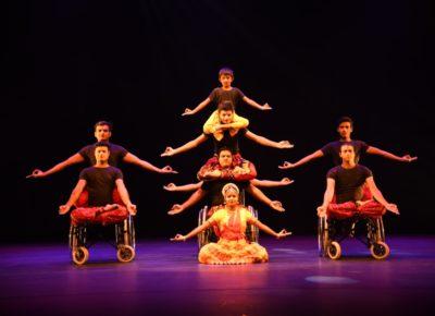 Guru Pasha's Wheelchair Dance Show at Rashtrapati Bhavan Auditorium, Delhi