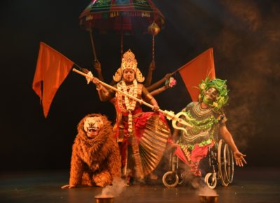 DURGA ON WHEELCHAIRS