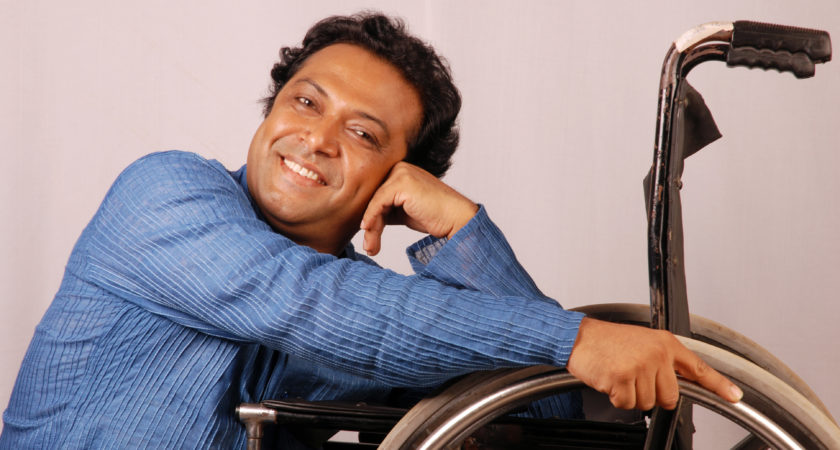 Wheelchair Dance innovated by Guru Syed Sallauddin Pasha