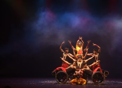 Bharatanatyam On Wheelchairs