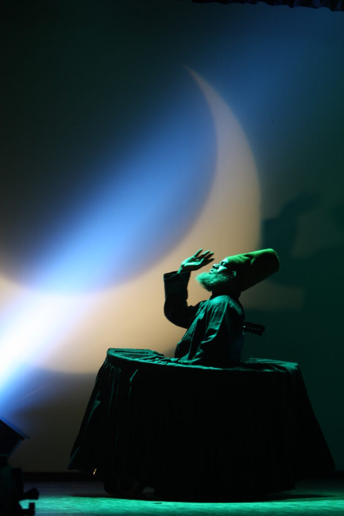 Rumi On wheels is Magical Wheelchair Dance by Syed sallauddin Pasha