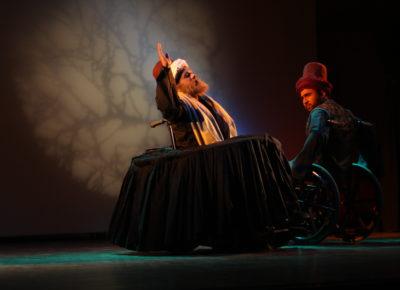 Syed Sallauddin Pasha's Rumi On Wheels